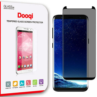Dooqi For Samsung Galaxy S9 Plus / S9 Privacy Tempered Glass FULL COVERAGE