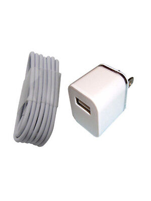 1x Wall Chargers + 1x 3FT 8 Pin USB SYNC DATA CABLE CORD for iPhone 7 6S 5S SE