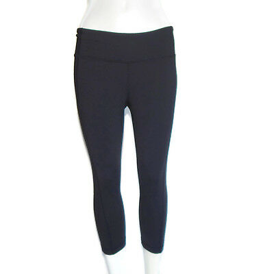 4bc44b65cd1b4 LUCY Powermax Athleta Capri Leggings Yoga Pants Black Purple Small ...