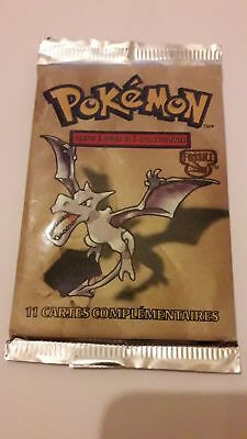 Booster pokemon FOSSILE FR neuf
