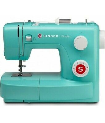 Machines Machine For Sewing Singer Simple 3223 - Green Edition - Stapler