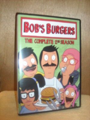 Bobs Burgers: The Complete 2nd Season (DVD, 2013, 2-Disc Set) animated TV series