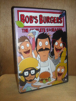 Bobs Burgers: The Complete 5th Season (DVD, 2016, 3-Disc Set) animated TV series