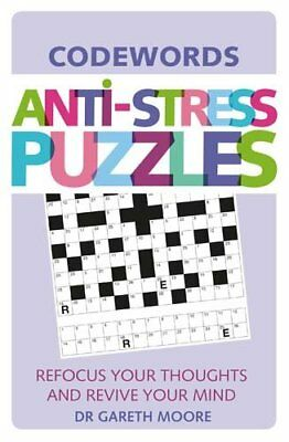 NEW Anti-Stress Puzzles: Codewords by Dr. Gareth Moore