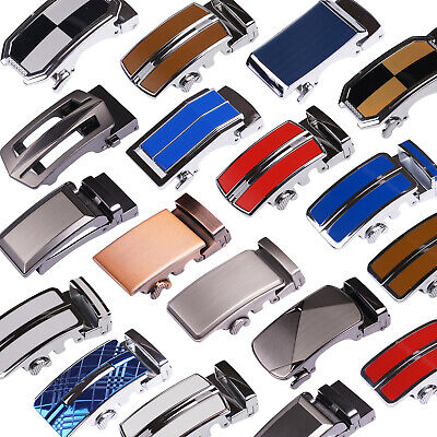 Brand Mens Belt Buckle Metal Automatic Buckle Ratchet 4cm Width fashion Buckle