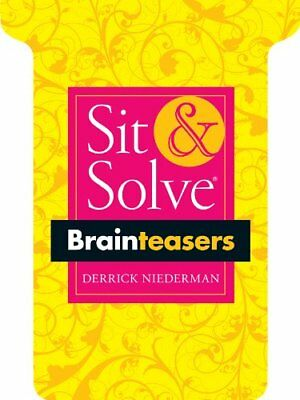 NEW Sit & Solve® Brainteasers (Sit & Solve® Series) by Derrick Niederman