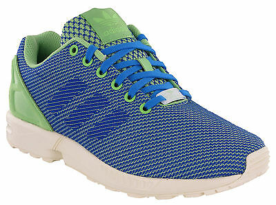 Details about Adidas ZX Flux men's sneakers blackgrayblue casual running shoes NEW