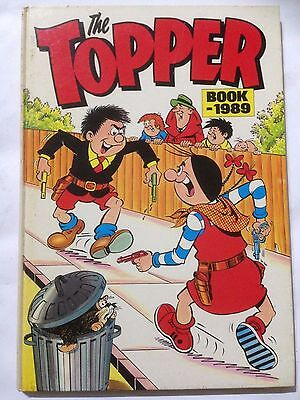 THE TOPPER Book. 1989 Annual Good Condition **Free UK Postage**