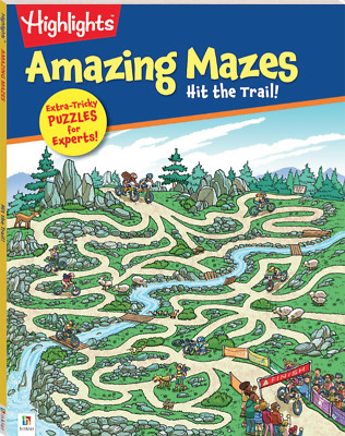 Highlights Amazing Mazes: Hit the Trail Dozens of Creative Puzzles Fun Maze Book
