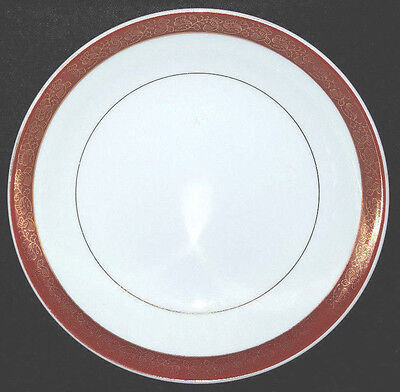 """Set of 4 .....Crown Empire EMPRESS Fine China 6-5/8"""" Bread & Butter Plates"""