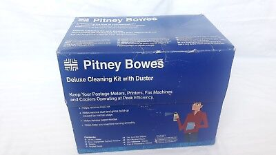 Pitney Bowes Deluxe Cleaning Kit with Duster Open Package PTG METER FAX PRINTER