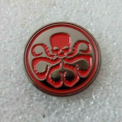 Hydra Enamel pin badge / lapel pin Marvel Comic Book Octopus design