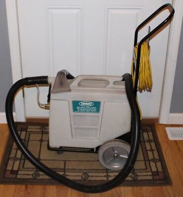Used Tennant 1000 Carpet Cleaner/Spotter/Spot Cleaner with Cart and Hose