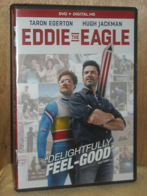 Eddie the Eagle (DVD, 2016) Taron Egerton Hugh Jackman Tom Costello