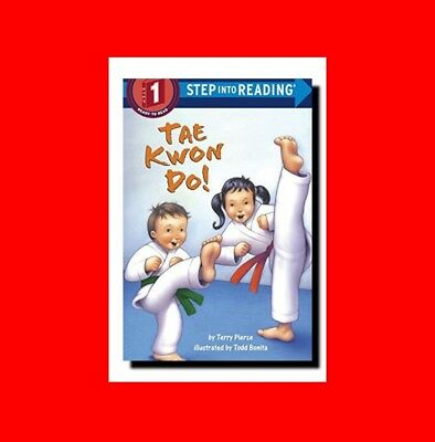 GD%KIDS'(Age 4-8)KARATE/MARTIAL ARTS BOOK:INTRO TO TAE KWON DO-STEP INTO READING