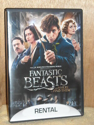 Fantastic Beasts and Where to Find Them (DVD, 2017, 2-Disc Set) Eddie Redmayne