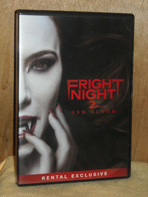 Fright Night 2: New Blood (DVD, 2013) Will Payne Jaime Murray Sean Power