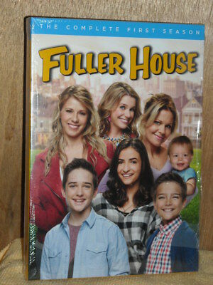 Fuller House: The Complete First Season (DVD, 2017, 3-Disc Set) Jodie Sweetin