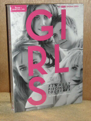 Girls: The Complete Fifth Season (DVD, 2017, 2-Disc Set) TV Series