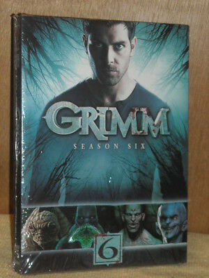 Grimm: Season Six (DVD, 2017, 4-Disc Set) classic fairytales come to life