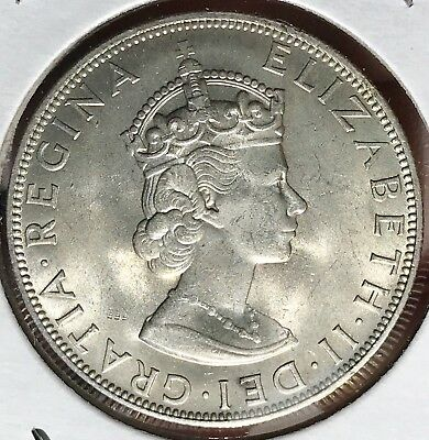 1964 Bermuda Silver Crown. Beautiful Collector Coin For Your Collection 3