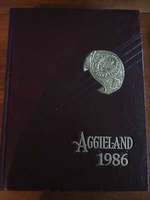 """1986 Texas A&M University """"Aggieland"""" of College Station, TX"""