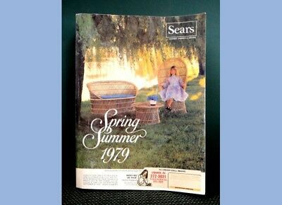 1979 vintage SEARS CATALOG, spring /summer, 1431 pages
