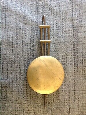 Antique Clock Pendulum Bob Ornate 55mm Diameter 140grams 135mm Long