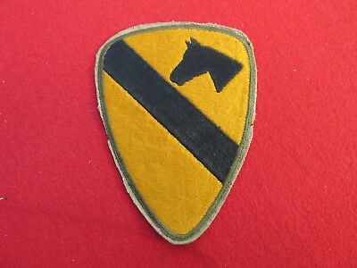 WW 2 US Army 1st Cavalry Division  Patch shoulder insignia
