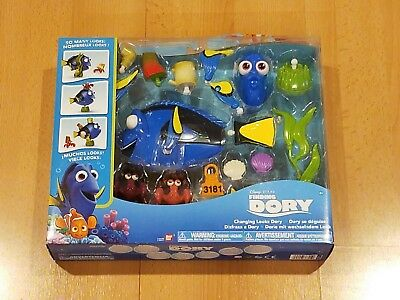 NEW Disney Finding Dory Rocket  Eraser Set of 3