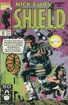 Nick Fury: Agent of SHIELD (1989 series) #25 in Near Mint condition