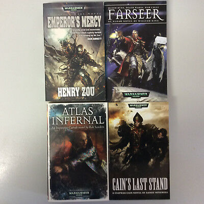 Warhammer 40K Black Library various novels of the Imperium 1