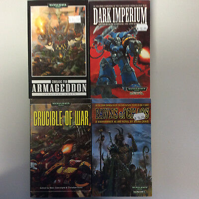 Warhammer 40K Black Library various novels of the Imperium 2