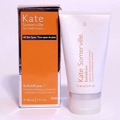 KATE SOMERVILLE  Exfolikate INTENSIVE EXFOLIATING TREATMENT 2 oz AMAZING! BOXED!