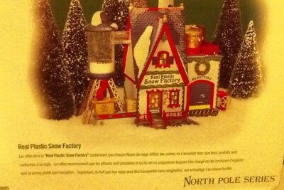 Department 56 - Real Plastic Snow Factory - North Pole Series