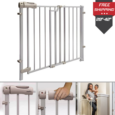 Extra Wide Baby Safety Gate Door Babies Child Proof Pet Cat Dog Protection Fence