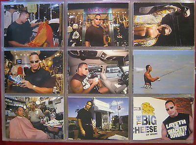 WWE WWF The Rock Solid Trading Card Set