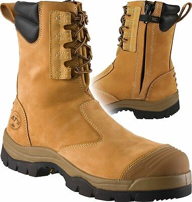 55-285 OLIVER HIGH LEG ZIP SIDED SAFETY BOOT - US Size 9
