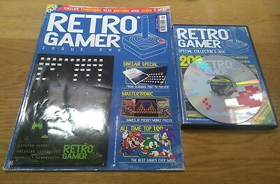 Retro Gamer Magazine Original 2004 Issue One 1 *not Reprint* With Cover Disc Cd