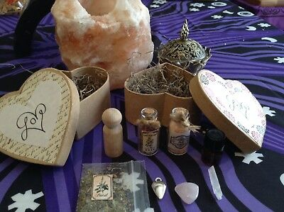 Witches Love Box - WICCA, WITCH, WITCHCRAFT, PAGAN, MAGIC, MAGICK