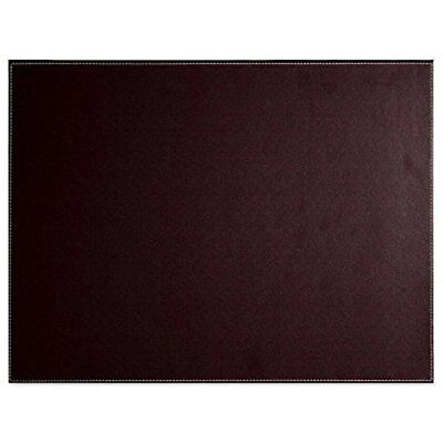 PU Leather Desk Mat - Executive Blotter And Protective & Protector Mouse Pad For