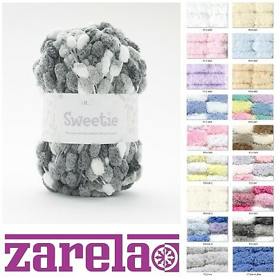 Sirdar Snuggly Sweetie 200g Pom Pom Baby Knitting Yarn ***ALL COLOURS***