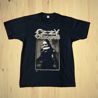 1992 Ozzy Osbourne The Last Bloody Shows Vintage-reprin T-Shirt#