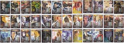 Dr Doctor Who Battles in Time Exterminator full 275 card set MINT