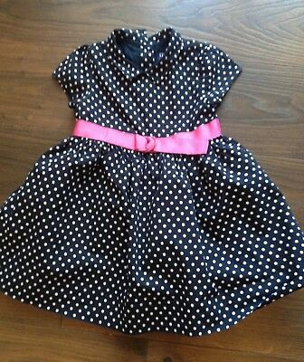 Pretty Gap Spotty Dress Age 12-18 Months