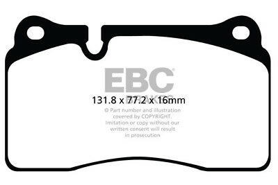 EBC Yellowstuff Front Brake Pads Audi RS3 (8P) 2.5 Turbo (335 BHP) (2011 > 13)