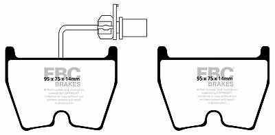EBC Yellowstuff Front Brake Pads for Audi RS3 2.5 Turbo (400 BHP) (2017 on)