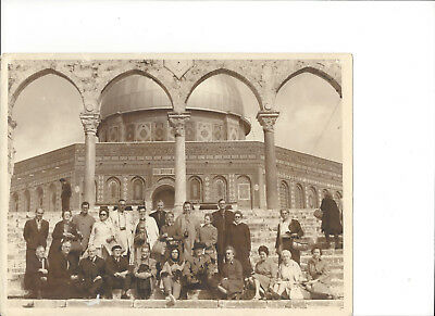 Rare Old Dome of the Rock ANCIENT CITY OF JERUSALEM SOLOMON TEMPLE Photo Print
