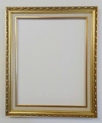 Picture Frame 18x24 Vintage Antique Style Baroque Classic Gold