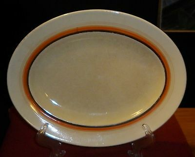 Vintage Clarice Cliff Porcelain  Serving Platter Good Condition